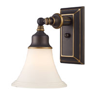 ELK Lighting Lurray 1 Light Wall Sconce in Aged Bronze 66174-1