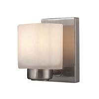 ELK 66185/1 New Haven 1 Light 5 inch Brushed Nickel Vanity Wall Light