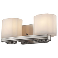 ELK Lighting New Haven 2 Light Vanity in Brushed Nickel 66186/2