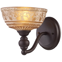 ELK 66190-1 Norwich 1 Light 8 inch Oiled Bronze Wall Sconce Wall Light
