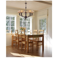 ELK 66197-5 Norwich 5 Light 28 inch Oiled Bronze Chandelier Ceiling Light alternative photo thumbnail