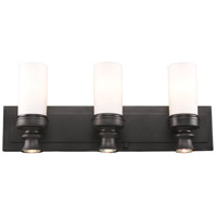 ELK Lighting Newfield 3 Light Bath Bar in Oiled Bronze 66252-3+3