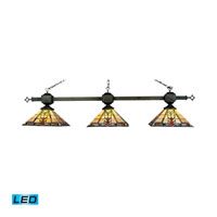 ELK Lighting Sedona 3 Light Billiard/Island in Tiffany Bronze 663-TB-LED