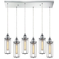 fulton 30 inch polished chrome pendant ceiling light
