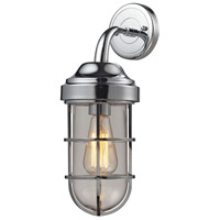 ELK Lighting Seaport 1 Light Sconce in Polished Chrome 66345/1