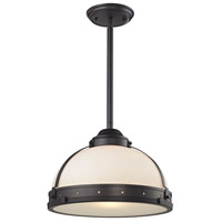 Braiden 1 Light 17 inch Oil Rubbed Bronze Pendant Ceiling Light
