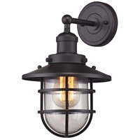 ELK 66366/1 Seaport 1 Light 8 inch Oil Rubbed Bronze Sconce Wall Light