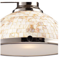 ELK 66415-3 Chadwick 3 Light 47 inch Polished Nickel Billiard Light Ceiling Light in Incandescent alternative photo thumbnail