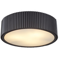 Brendon 3 Light 17 inch Oil Rubbed Bronze Flushmount Ceiling Light