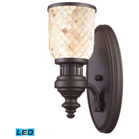 ELK Lighting Chadwick 1 Light Wall Sconce in Oiled Bronze 66430-1-LED