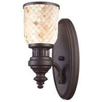ELK Lighting Chadwick 1 Light Wall Sconce in Oiled Bronze 66430-1