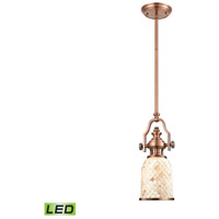ELK 66442-1-LED Chadwick LED 6 inch Antique Copper Pendant Ceiling Light