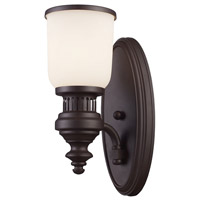 ELK Lighting Signature 1 Light Sconce in Oiled Bronze 66630-1