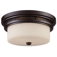 ELK Lighting Signature 2 Light Flushmount in Oiled Bronze 66631-2
