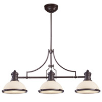 ELK Lighting Signature 3 Light Island in Oiled Bronze 66635-3