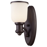 Brooksdale 1 Light 5 inch Oiled Bronze Wall Sconce Wall Light