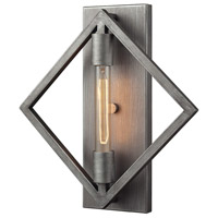 ELK Lighting Laboratory 1 Light Sconce in Weathered Zinc 66891/1