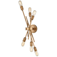 ELK 66908/6 Xenia 6 Light 10 inch Matte Gold Sconce Wall Light