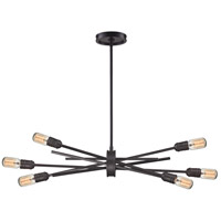 Xenia 6 Light 31 inch Oil Rubbed Bronze Chandelier Ceiling Light