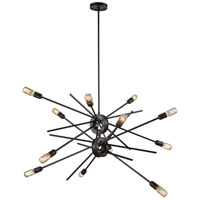 Xenia 12 Light 42 inch Oil Rubbed Bronze Chandelier Ceiling Light