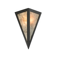 ELK Lighting Mica 1 Light Sconce in Oil Rubbed Bronze 66930/1