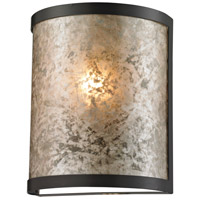 Mica 1 Light 7 inch Oil Rubbed Bronze Sconce Wall Light
