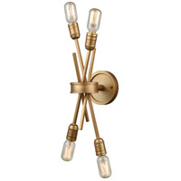 Xenia 4 Light 5 inch Matte Gold Wall Sconce Wall Light in Medium