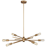 Xenia 6 Light 31 inch Matte Gold Chandelier Ceiling Light