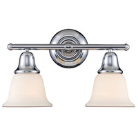 Berwick 2 Light 17 inch Polished Chrome Bath Bar Wall Light in Standard