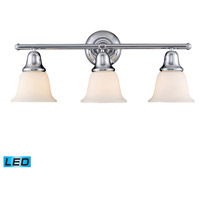 Berwick LED 27 inch Polished Chrome Bath Bar Wall Light in 3