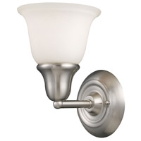 Berwick 1 Light 7 inch Brushed Nickel Bath Bar Wall Light in Standard