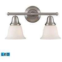 Berwick LED 17 inch Brushed Nickel Bath Bar Wall Light in 2