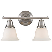 Berwick 2 Light 17 inch Brushed Nickel Bath Bar Wall Light in Standard