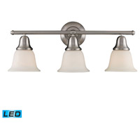 ELK Lighting Berwick 3 Light Bath Bar in Brushed Nickel 67022-3-LED