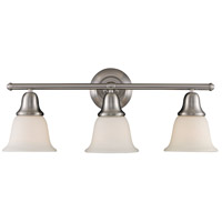 Berwick 3 Light 27 inch Brushed Nickel Bath Bar Wall Light in Standard