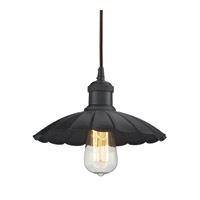 ELK Lighting Corrine 1 Light Pendant in Oil Rubbed Bronze 67040/1