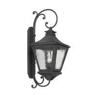 ELK 6712-C Manor 3 Light 33 inch Charcoal Outdoor Wall Lantern