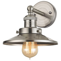 Elk Lighting English Pub 1 Light Vanity in Satin Nickel 67170/1