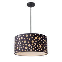 ELK Lighting Enchantment 3 Light Pendant in Matte Black 68001-1