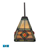 ELK Lighting Corona 1 Light Pendant in Classic Bronze 684-CB-LED