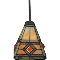 ELK Lighting Corona 1 Light Pendant in Classic Bronze 684-CB