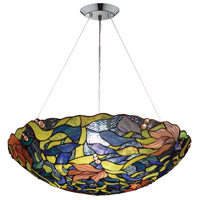 ELK 70010-3 Impressionist 3 Light 26 inch Polished Chrome Pendant Ceiling Light