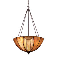 ELK Lighting Dimensions 4 Light Pendant in Burnished Copper 70048-4