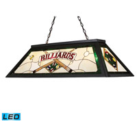 ELK 70083-4-LED Tiffany Lighting LED 44 inch Tiffany Bronze Billiard Light Ceiling Light