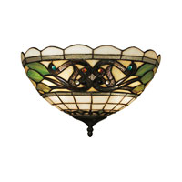 ELK Lighting Tiffany Buckingham 2 Light Wall Sconce in Vintage Antique 70097-2
