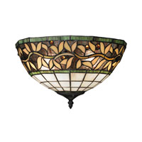 ELK Lighting English Ivy 2 Light Wall Sconce in Tiffany Bronze 70100-2