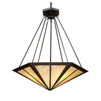 Oak Park 3 Light 24 inch Tiffany Bronze Pendant Ceiling Light