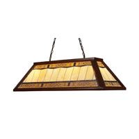 ELK Lighting Filigree 4 Light Billiard/Island in Dark Mahogany Wood 70112-4 photo thumbnail