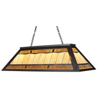 ELK 70113-4 Filigree 4 Light 44 inch Tiffany Bronze Billiard Light Ceiling Light in Incandescent