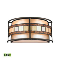 ELK Lighting Annondale LED Wall Sconce in Tiffany Bronze 70190-2-LED